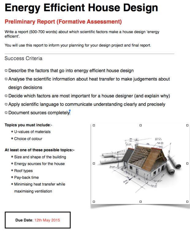 heat worksheet